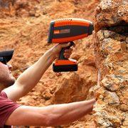 TerraSpec Halo Mineral Identifier: sampling rock