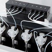 8-fold flow sensor module for an 8-channel Nano-Plotter