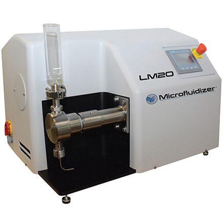LM20 Microfluidizer High Pressure Homogeniser