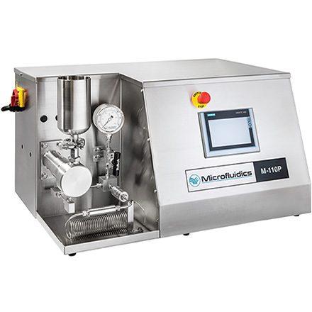 M-110P Microfludizer High Pressure Homogeniser