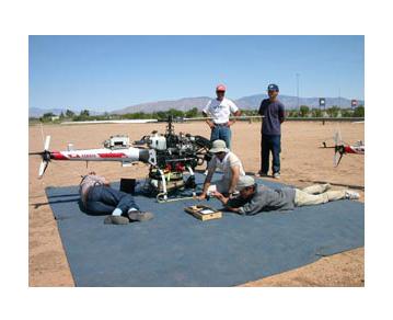 Airborne remote-sensing technology
