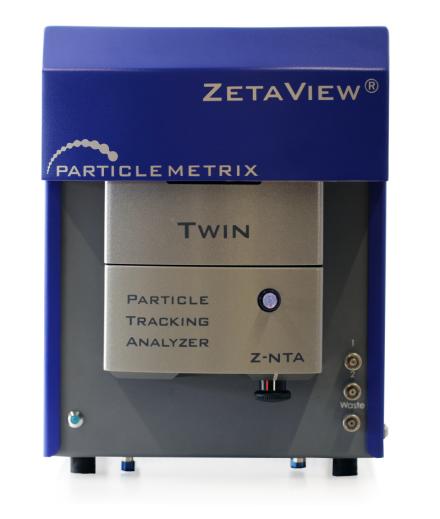 PMX Zetaview TWIN Laser NTA Instrument
