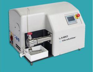 Lab-scale Microfluidizers